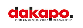 dakapo Logo - Strategie, Branding, Design, Kommunikation